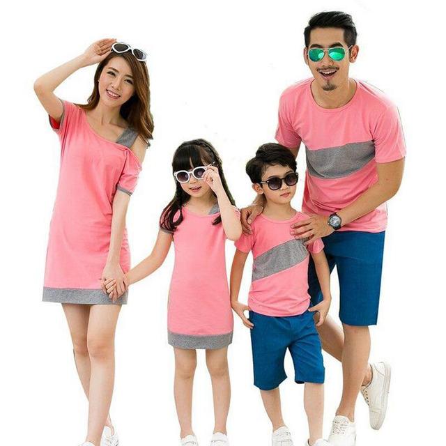2016 семьи соответствующие наряды летом семья взгляд , соответствующие одежды матери-дочери ...