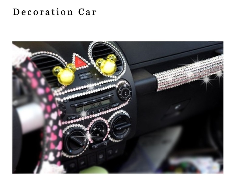 10.*23cm  Mixed Acrylic Rhinestone Crystal Decoration  Kids DIY Cute toys 3D Stickers For Car Notebook refrigerator backpack