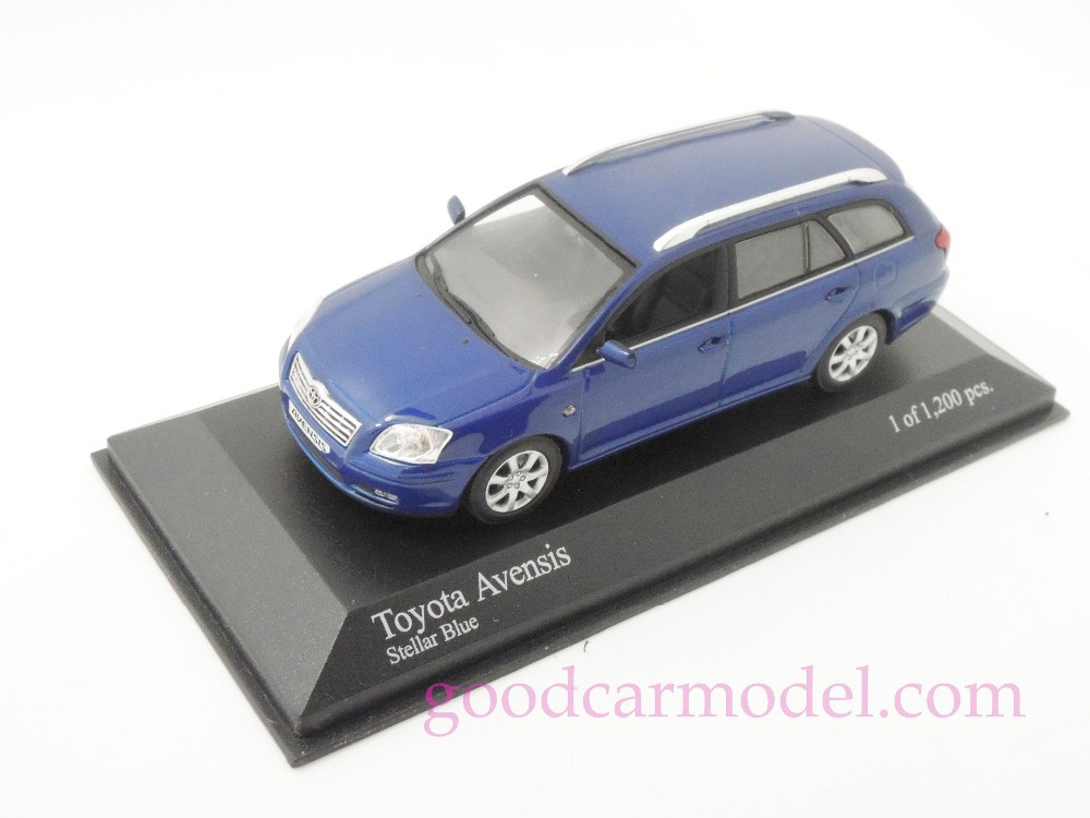 New Minichamps 1:43 Car Model Toyota Avensis 2002 430166210 Free Shipping From HK(China (Mainland))