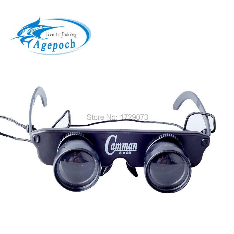 Agepoch Zoom Magnifier Optics Binoculars Feeder Carp Fly Tackle Peche Polaroid Goggles Telescope Fishing Glasses Eyewear(China (Mainland))