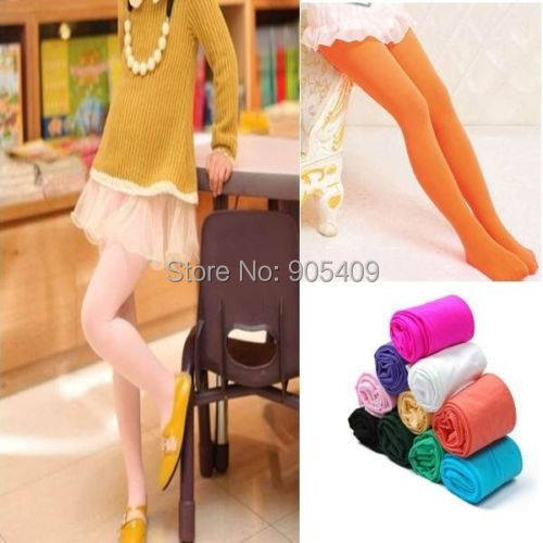 Factory price! New Sweet Candy Color Kid Girls Velvet Legging Stretch Tights Leggings Pants Stockings 12 Colors 5-10 Years<br><br>Aliexpress