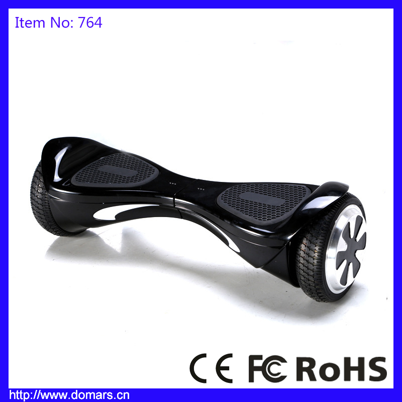 New Design Two Wheels Balance Scooter Electric Skateboard 6.5 inches Hoverboard Bluetooth Music Speaker With Samsung Batteries