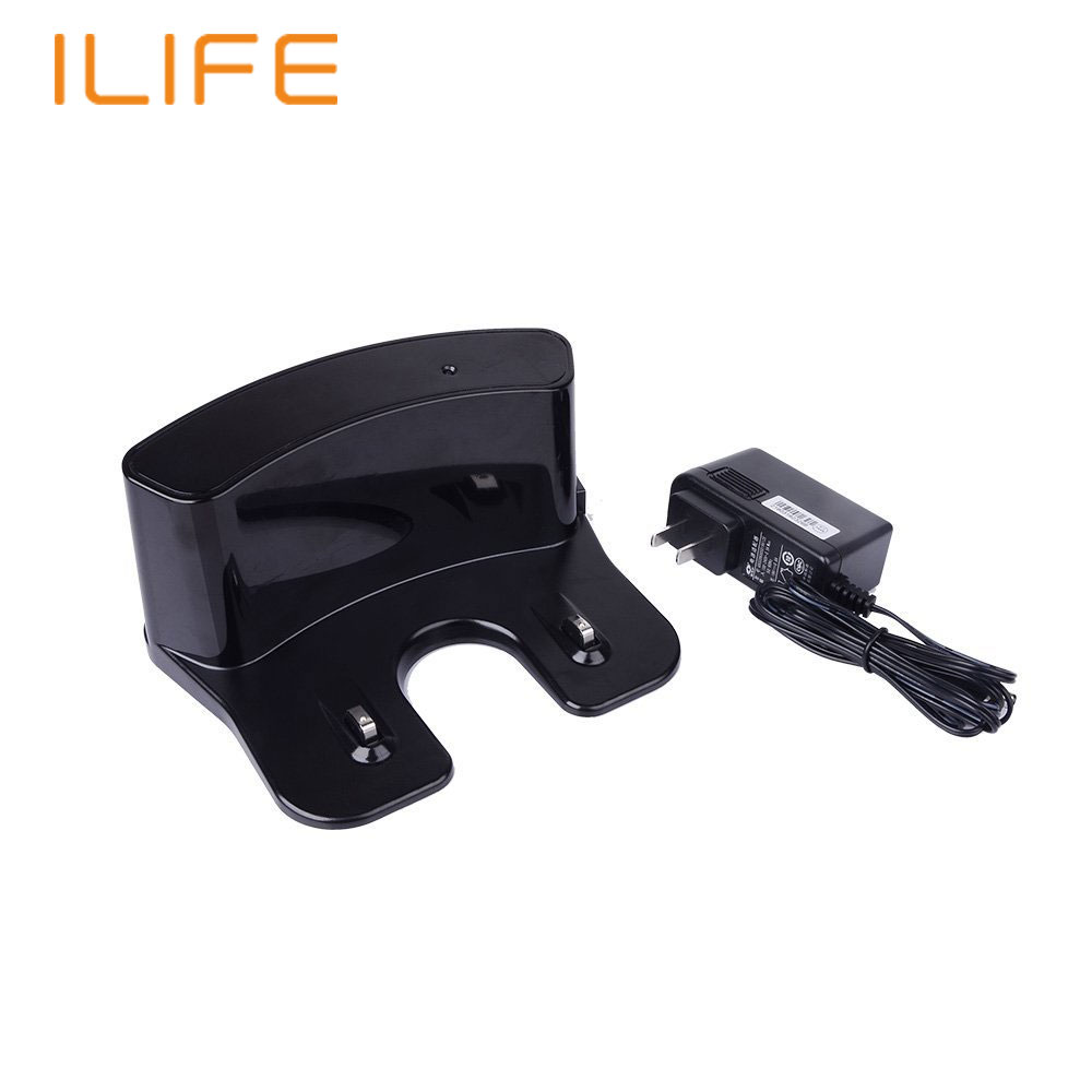 Robot Vacuum Parts for ILIFE V3S Pro Power Adaptor Accessory DC Power Supply CN US EU UK Plug Home Dock for Self-Charging(China (Mainland))