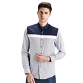 2017 new arrival spring autumn European American high quality men s long sleeved shirts with fashion