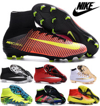 2016 new High Ankle original FoOTBaLls BoOTs FG AG Outdoor SoCCeRs Ace 16 Purecontrols shoes eur 39-45 Ay56(China (Mainland))