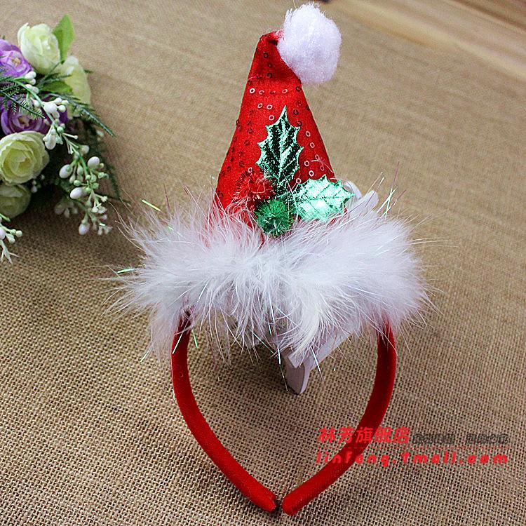 Diademas para navidad for Decoraciones para el pelo