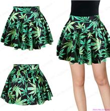 New Green Mini Skirts Women Slim Fit Pettiskirt Tennis Exercise Skirts Nightclubs Flared Pleated Sport font