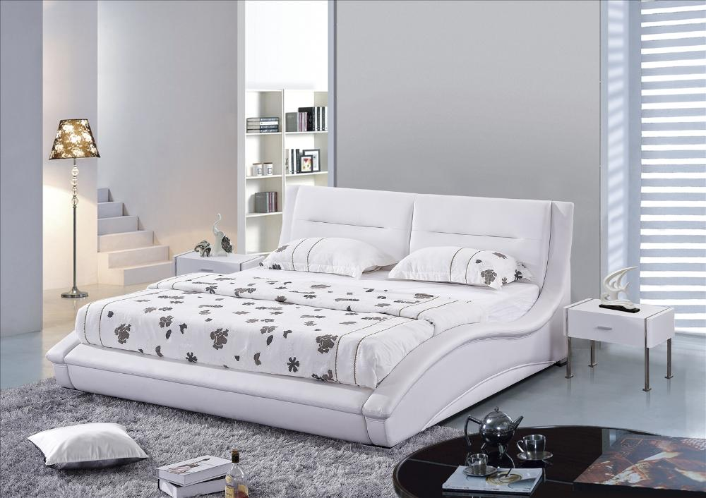 best modern bedroom furniture bed king queen size soft bed with