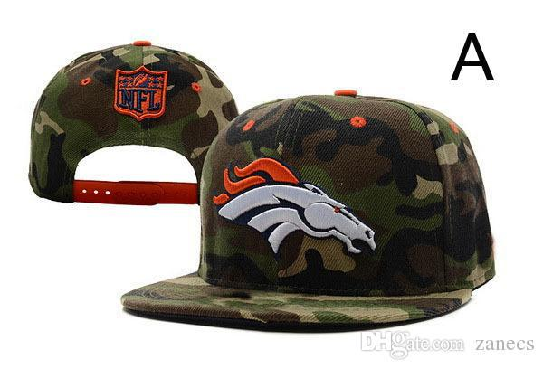 US National Football Broncos Snapback Classic Collection Alternate Cap Embroidered Team logo Soccer Men's Adjustable Hat(China (Mainland))