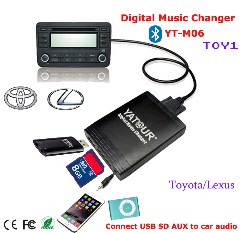Apps2car Usb Sd Aux Car Digital Music Changer For Toyota: Online Buy Wholesale Bluetooth Cassette Adapter From China