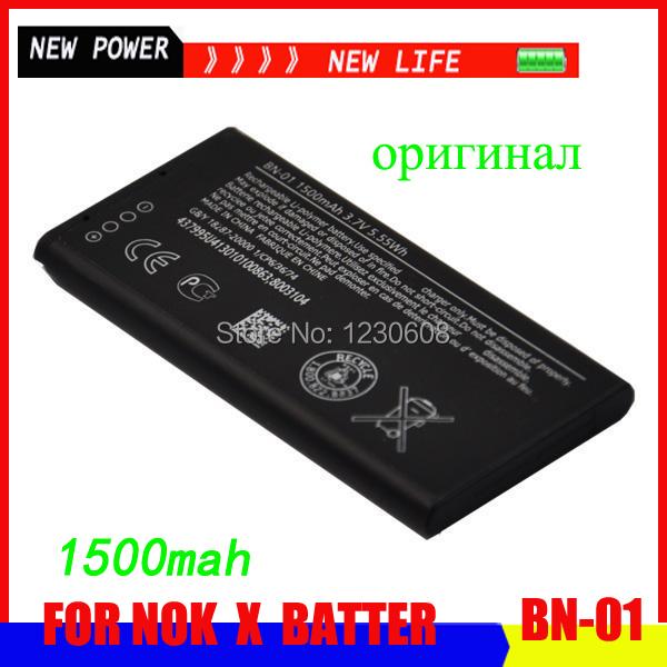 Гаджет  100% original for Nokia X/X+/Normand/A10/RM-980/X Plus/RM-1053 battery, Model BN-01 free shipping None Электротехническое оборудование и материалы