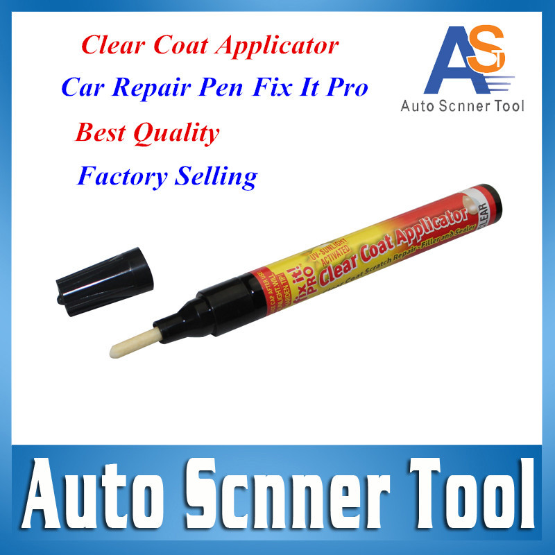 2016 Best Price Car Repair Pen Fix It PRO Car Painting Pen Scratches Repair For Simoniz Clear Pen Packing Car Care Free Shipping(China (Mainland))