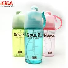 2016 Fashion garrafa fruit my water bottle infuser cheap sports water bottle Hot sale plastic water bottle 400ml/600ml(China (Mainland))