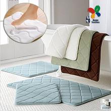 High quanlity!!! Slow rebound memory foam mats waste-absorbing slip-resistant bath mat velvet mat doormat carpet