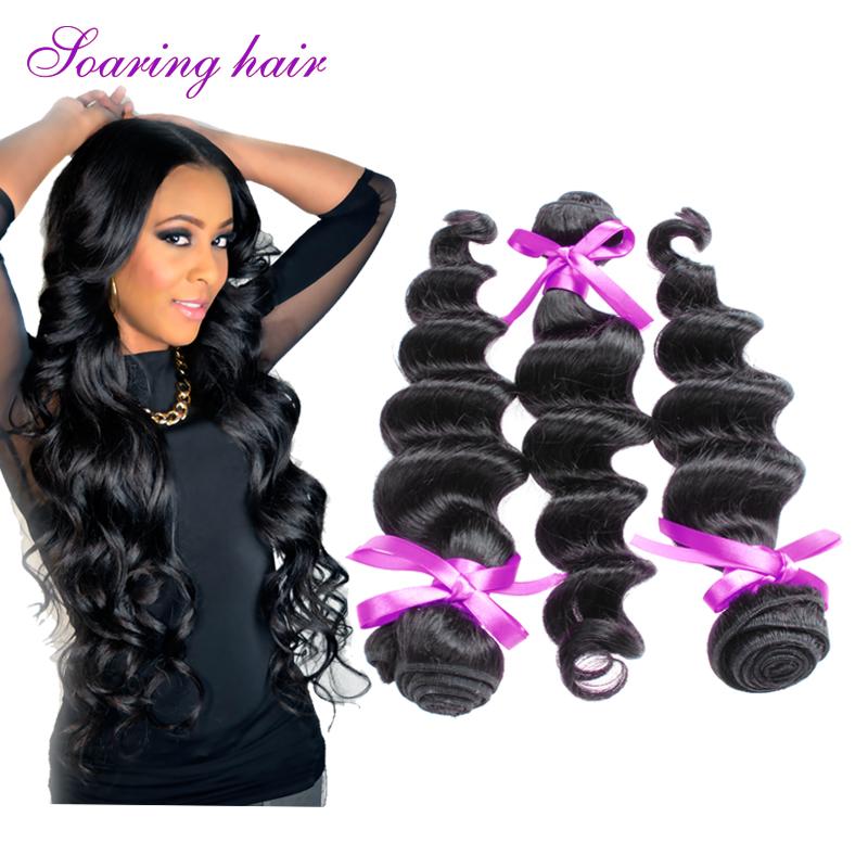Mono-Directional Cuticles 5A Raw Unprocessed Loose Wave Henray Peruvian Virgin Hair Mixed 3pcs 100% Intact Human Hair Extension<br><br>Aliexpress