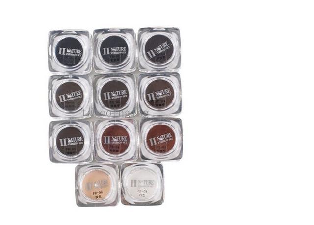 Permanent Makeup PCD Pigment Eyebrow Ink Set For Microblade Eyebrow
