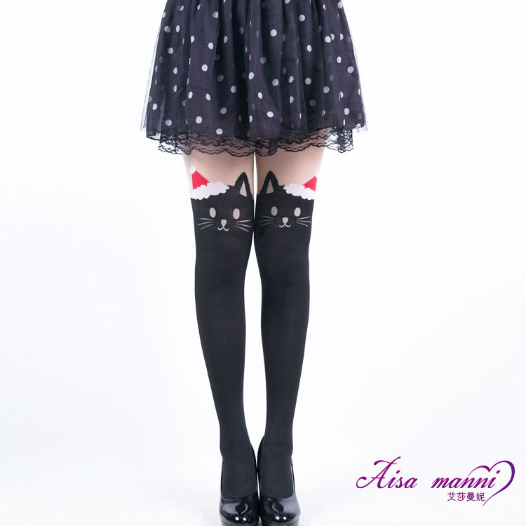 Christmas cat pantyhose brand new summer dress from reliable stocking