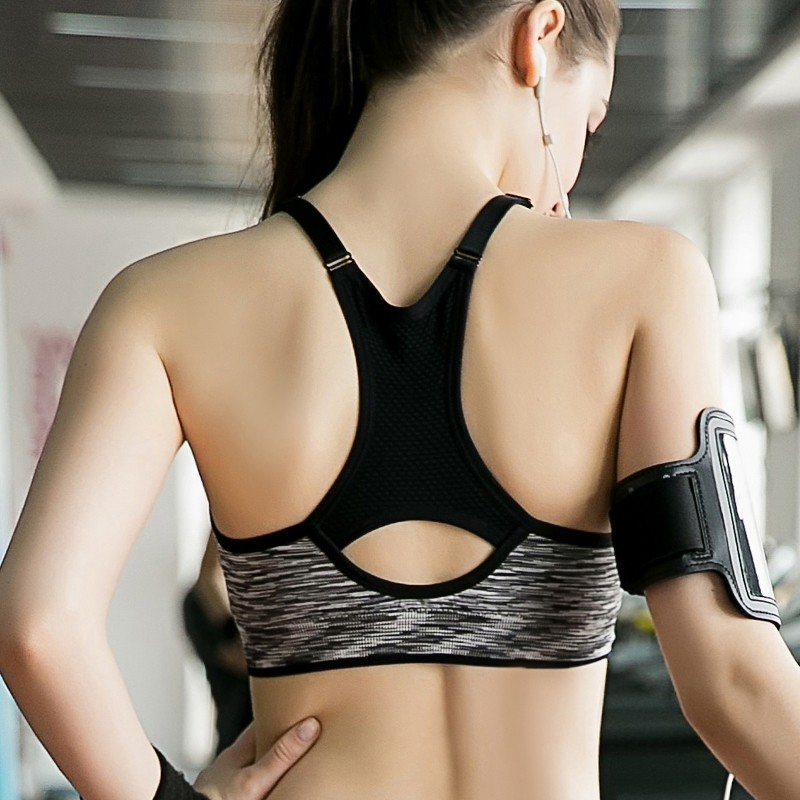 2016 New Professional Sport Bras bralette Seamless Fashion Fitness Top Underwear women Running woman Vest 38D 36D 34D 32D(China (Mainland))