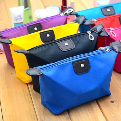 Woman Multi-colors Fashion Lady Travel Cosmetic Pouch Bag Clutch Storage Makeup Bag(China (Mainland))