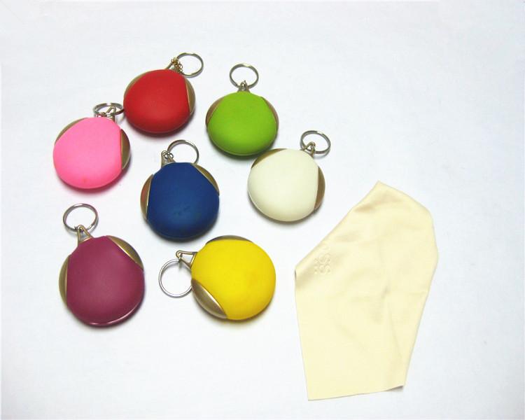 Receive glasses cloth box / silica gel glasses cloth pendant / Glasses cloth accessories pendant(China (Mainland))