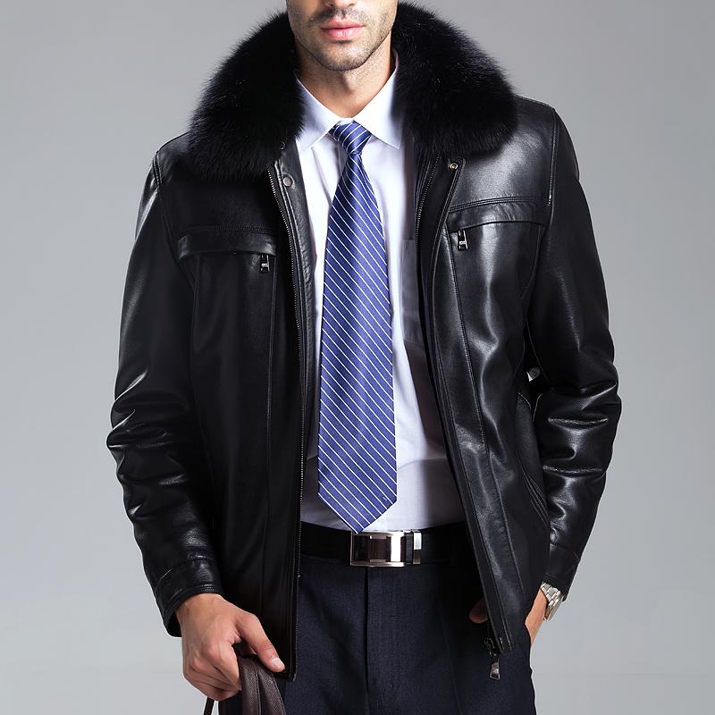 Кожанные Зимние Куртки