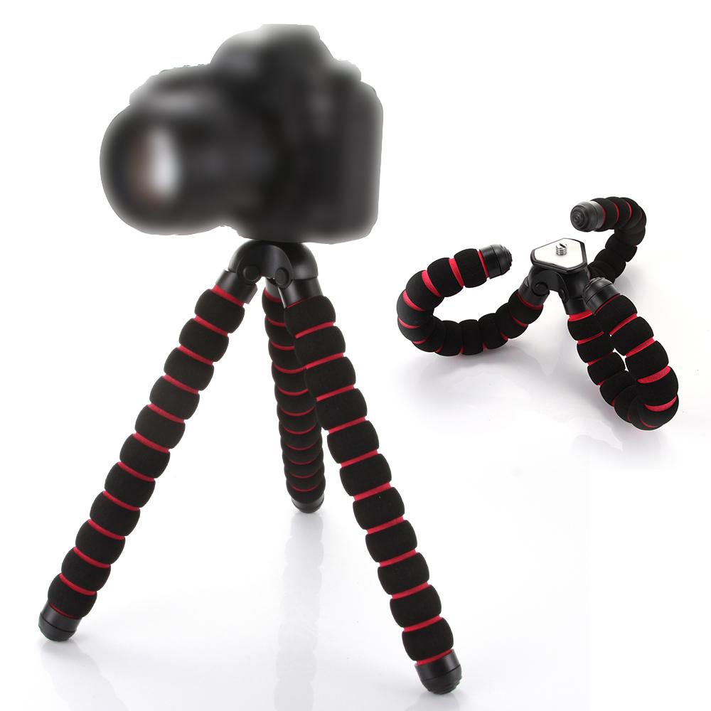 "Large Octopus Spider Flexible Tripod DSLR Camera DV Stand 1/4"" 3/8"" Screw Mount(Hong Kong)"