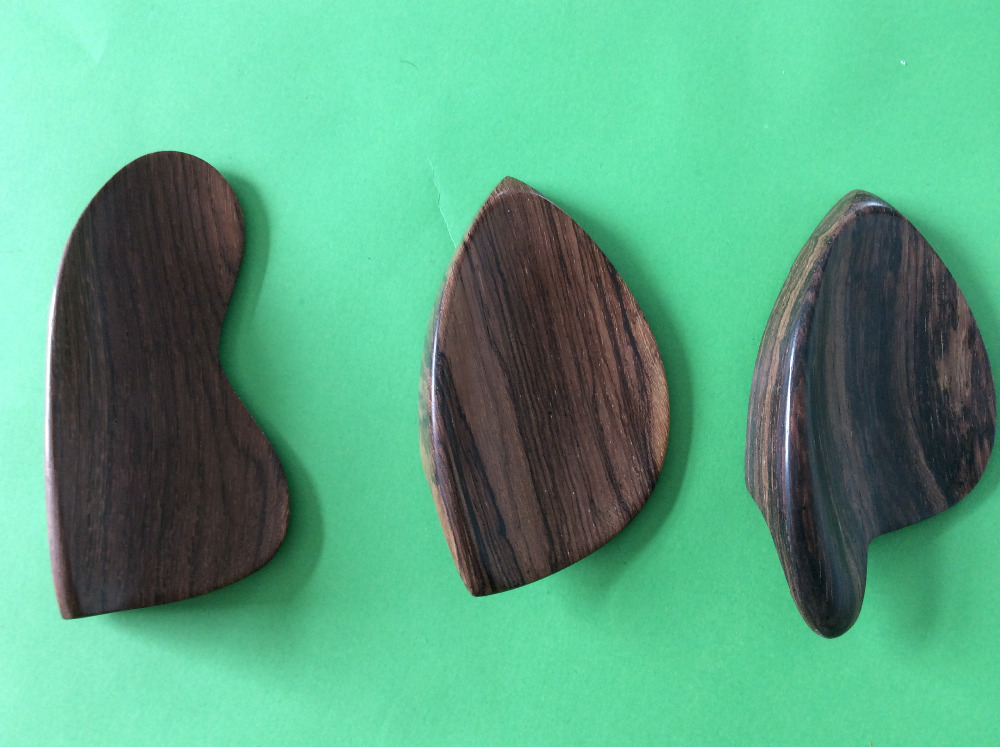 3 pieces of rosewood violin chinrest s 4/4 size(China (Mainland))