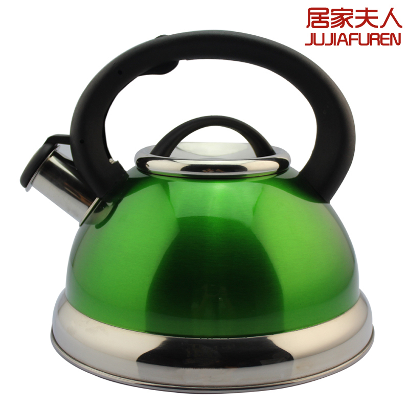 At home whistling kettle water spirant kettle platform teaports 304 stainless steel water bottle(China (Mainland))