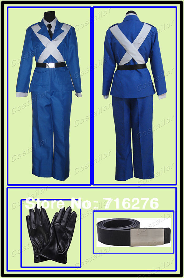 Kisstyle Fashion Axis Power Hetalia (APH) France Cosplay Costume