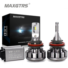 Buy MAXGTRS H1 H7 LED H4 H8 H11 9005 9006/HB4 9012 60W 6000lm Car Headlights Auto Front Bulb Automobiles Headlamp Xenon White 6000K for $39.87 in AliExpress store