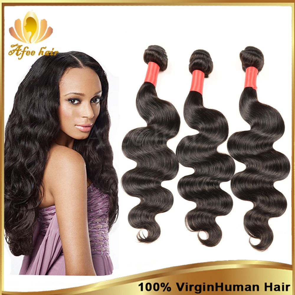 Wholesale price Brazilian body wave hair extensions 3&amp;4 bundles/lot length 10-30 inch free shipping queen hair products<br><br>Aliexpress