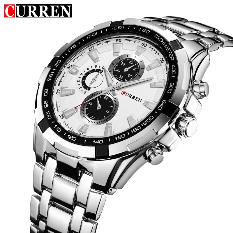 Relogio Masculino 2016 CURREN Watches Men quartz army Watch Top Brand luxury Waterproof male Watches Men Sports watches for men(China (Mainland))