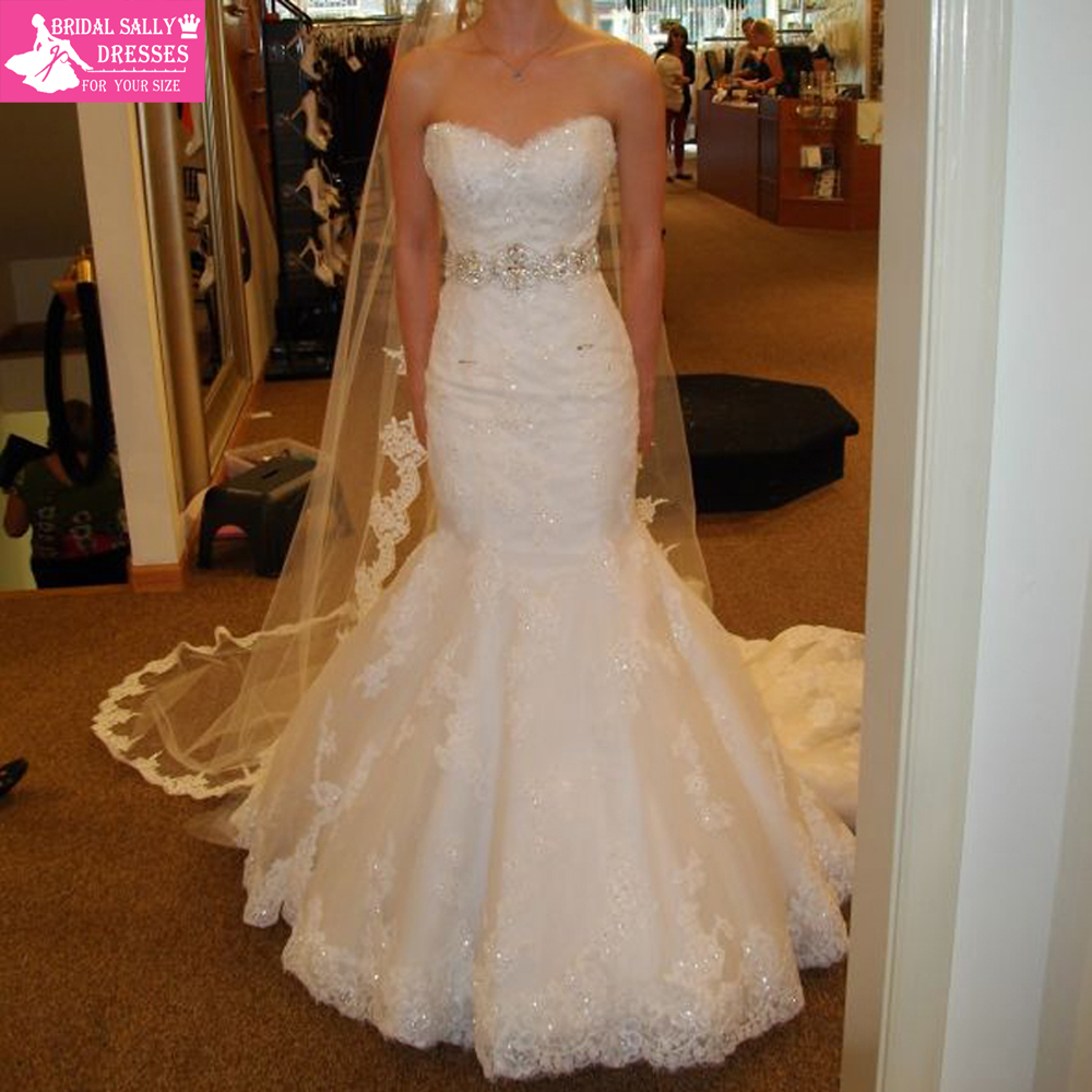Wedding Dress With Crystal Sash 51