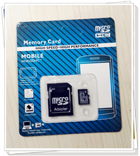 Hot selling  memory card with retail package 4-128GB micro sd card TF card for cell phone with adapter Real capacity BT9(China (Mainland))