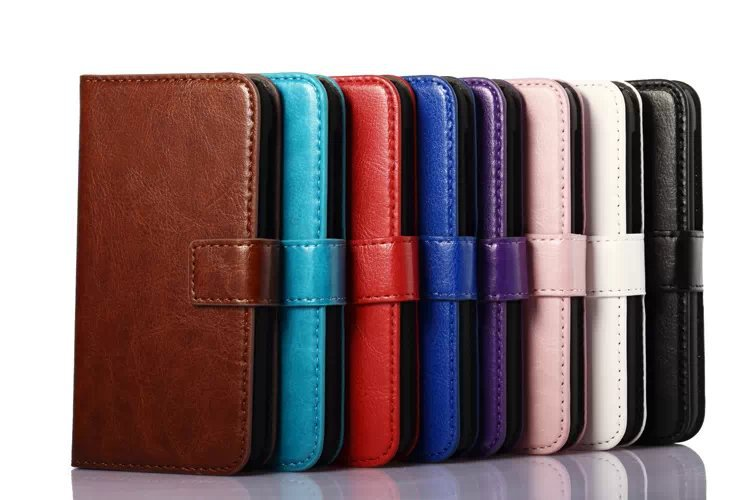 Nokia Case Oil Buffed Leather Wallet Cover Lumia 530 Stand - Phone-Case-Membrane-Home store