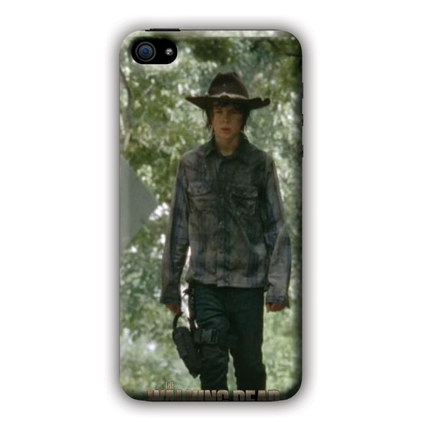 Walking Dead Carl For iPhone 5C Cases Against Embryonictem Cell Research(China (Mainland))