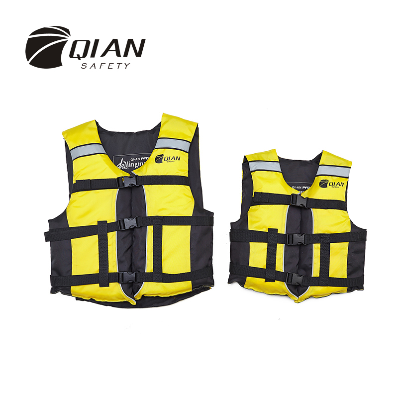 QIAN SAFETY Child/Adult Accessorial Life Vest EPE Buoyancy Foam Water Sports Lifesaving Swimming Accessorial Life Jacket(China (Mainland))