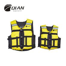 QIAN SAFETY Professional Child/Adult Life Vest EPE Buoyancy Foam Water Sports Lifesaving Swimming Life Jacket With Whistle(China (Mainland))