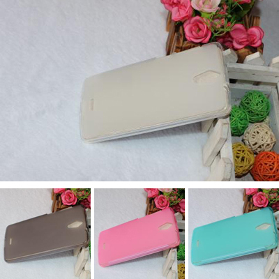 2015 NEW TPU Gel Skin Pudding Cover Case for China Mobile N1 M821 Soft Back cover mobile phone Shell 4 colors Cover + touch pen(China (Mainland))