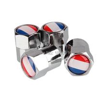 4pcs France Flag Emblem Universal Wheel Tire Valve Caps Car-Styling Accessories For Audi BMW FORD FOCUS TOYOTA NISSAN MINI (China (Mainland))