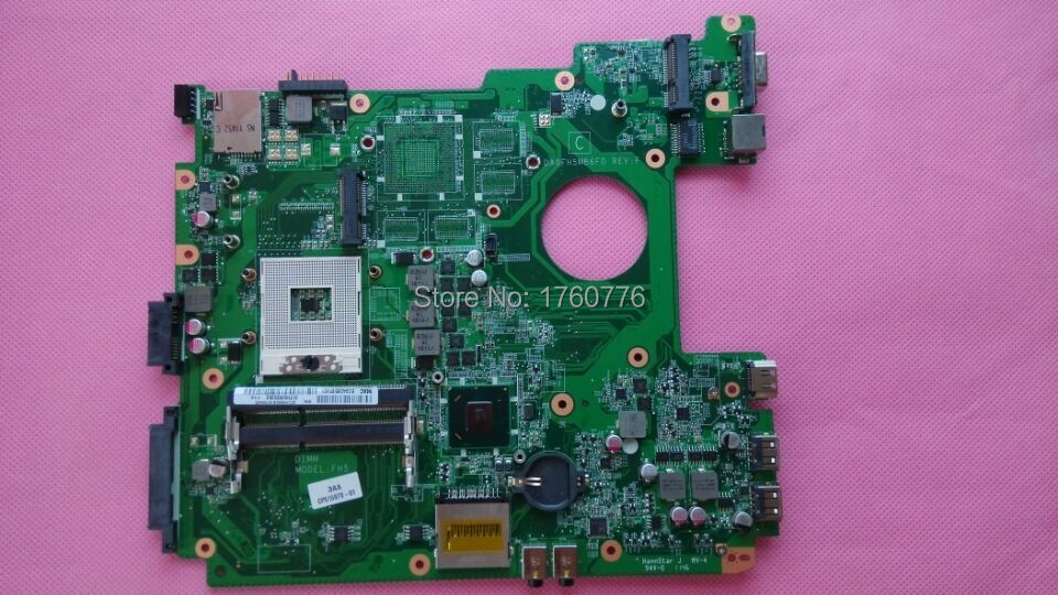 For Fujistu AH531 Laptop Motherboard HM65 DDR3 DA0FH5MB6F0 Mother board 100% Tested Perfect Working(China (Mainland))