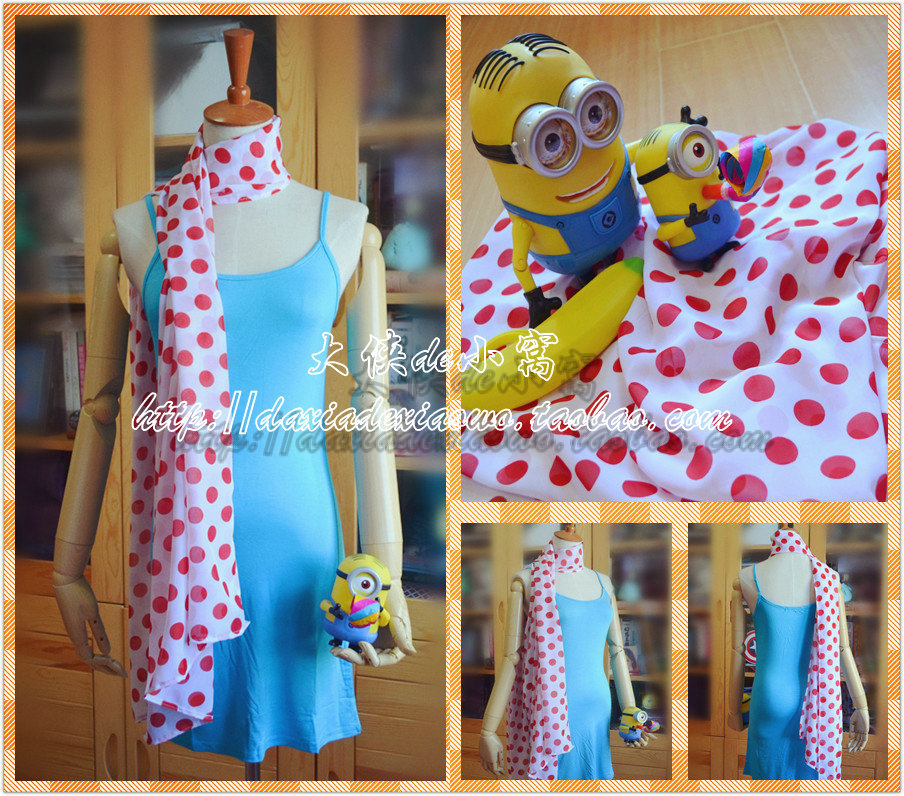 Lucy despicable me 2 costume