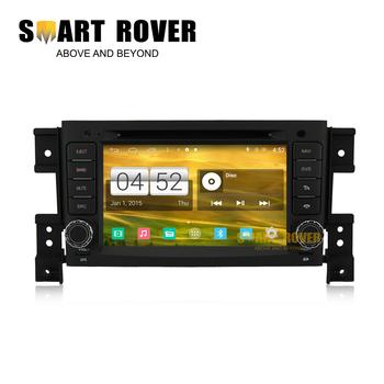 1024*600 Quad Core Android 4.4.4 Car DVD Stereo Sat Navi Headunit For SUZUKI GRAND VITARA 2005-2012 GPS Radio 16GB iNand Flash