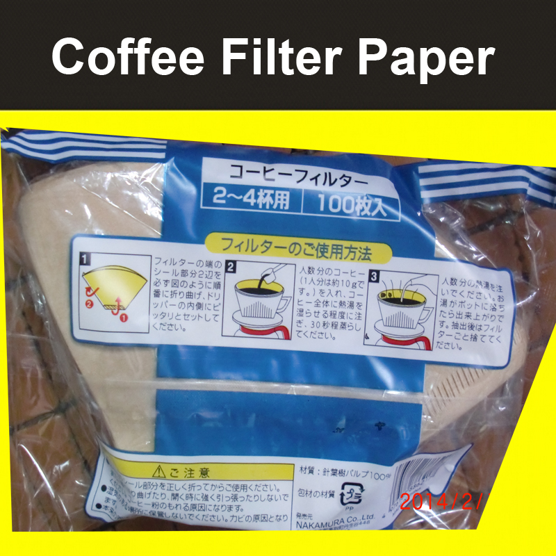 promotion-1sets-coffee-filter-net-cup-Thickened-coffee-Filter-Paper-coffee-maker-parts-Free ...