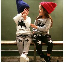 2016 autumn/winter new fashion with velvet thickening warm kids harem pants 2-7 year boys girls pants