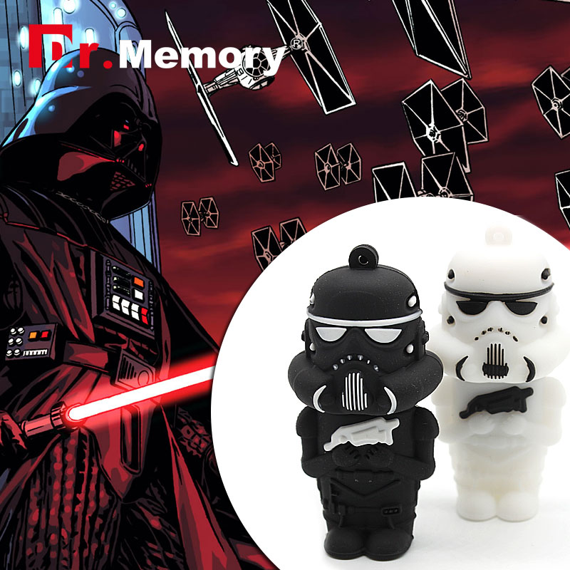 usb flash drive Star wars stormtrooper usb flash drive 8g/16g usb2.0 memory pen disk thumb/drive(China (Mainland))
