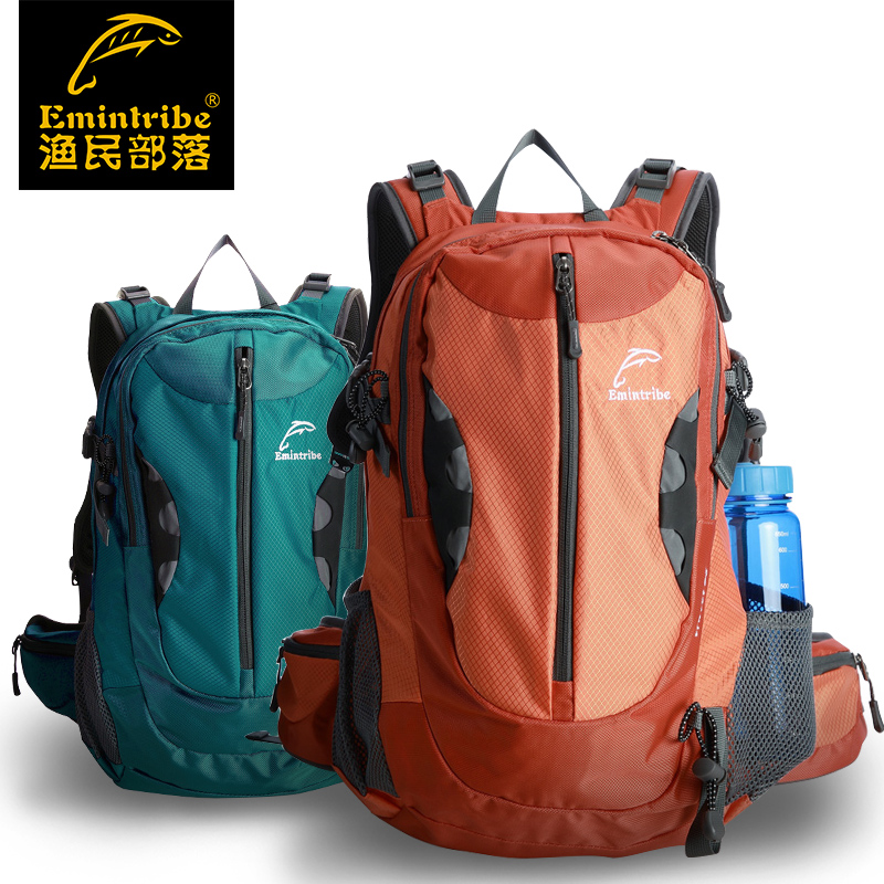 waterproof backpack double-shoulder mountaineering racksack travel packsack outdoor climbing camping hiking riding knapsack(China (Mainland))