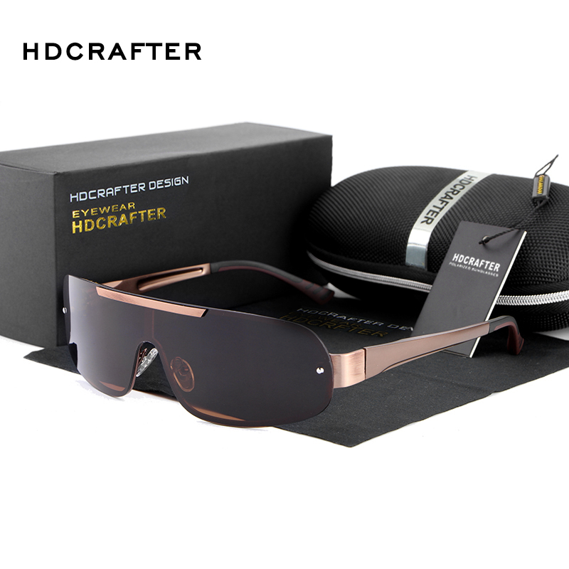 HDCRAFTER 2017 Sun Glasses with UV400 Protection Brand Designer Sunglasses Men Polarized Eyewear oculos de sol Free Shipping(China (Mainland))