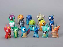 16pcs Anime Slugterra Toy Set PVC Miniature Action Figures Baby Kids Toys Gift For Boys Girls