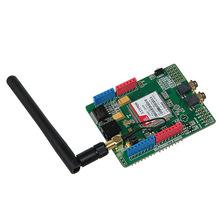 Buy Updated SIMCOM SIM900 Module Quad Band Wireless GSM/GPRS Shield Development Board Arduino Free Shipping! for $32.25 in AliExpress store